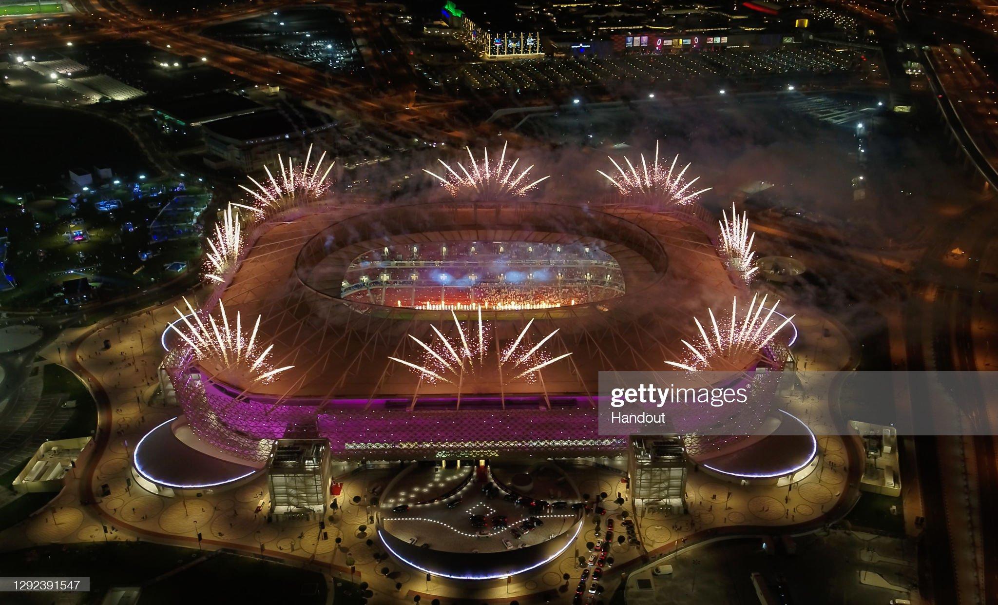 Qatar Inaugurates Fourth FIFA World Cup 2022 Venue, Ahmad Bin Ali Stadium : ニュース写真