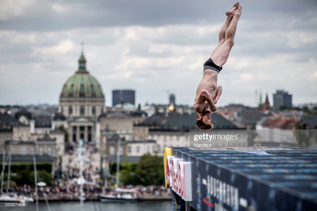 Red Bull Cliff Diving World Series 2018 : News Photo