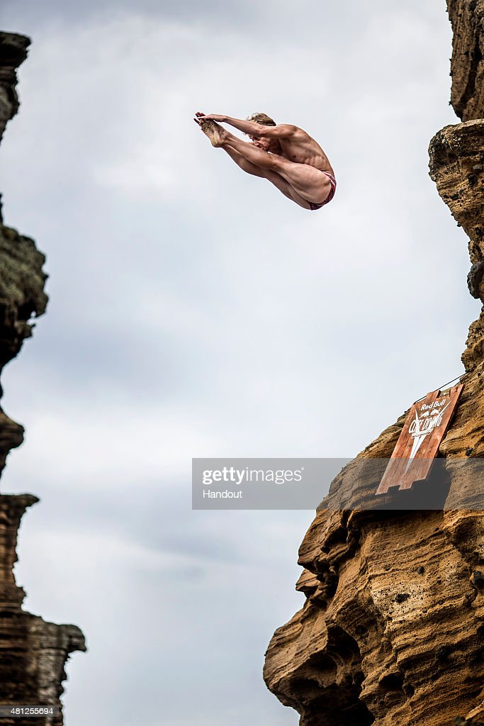 Red Bull Cliff Diving World Series 2015 : News Photo