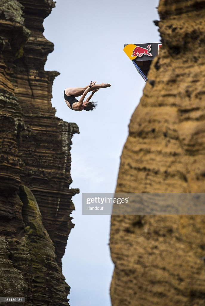 Red Bull Cliff Diving World Series 2015 : Nachrichtenfoto