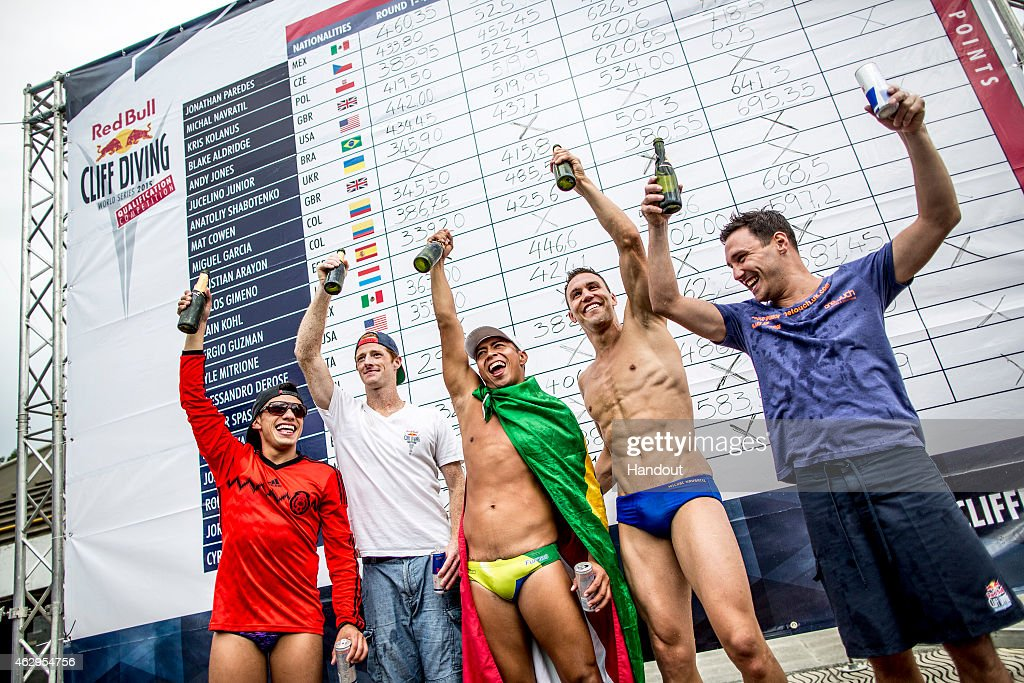 Red Bull Cliff Diving World Series Qualification Competition 2015 : News Photo
