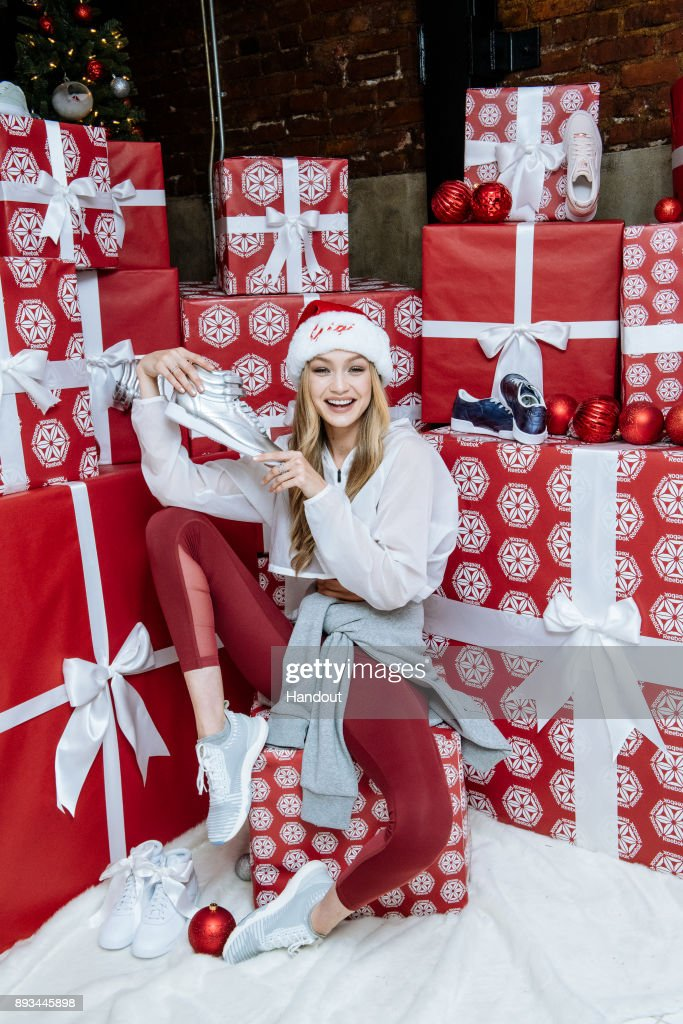 Reebook & Gigi Hadid Host Holiday Party Inspiring Women To Be Better Together in 2018