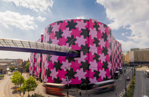 GBR: Selfridges Changes The Birmingham Skyline With New Art Installation By Osman Yousefzada On The World's Largest Canvas