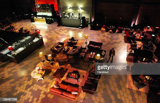 In this handout image provided by Soho House a general view of the atmosphere is shown at the Universal Music Brits party hosted by Bacardi at the...