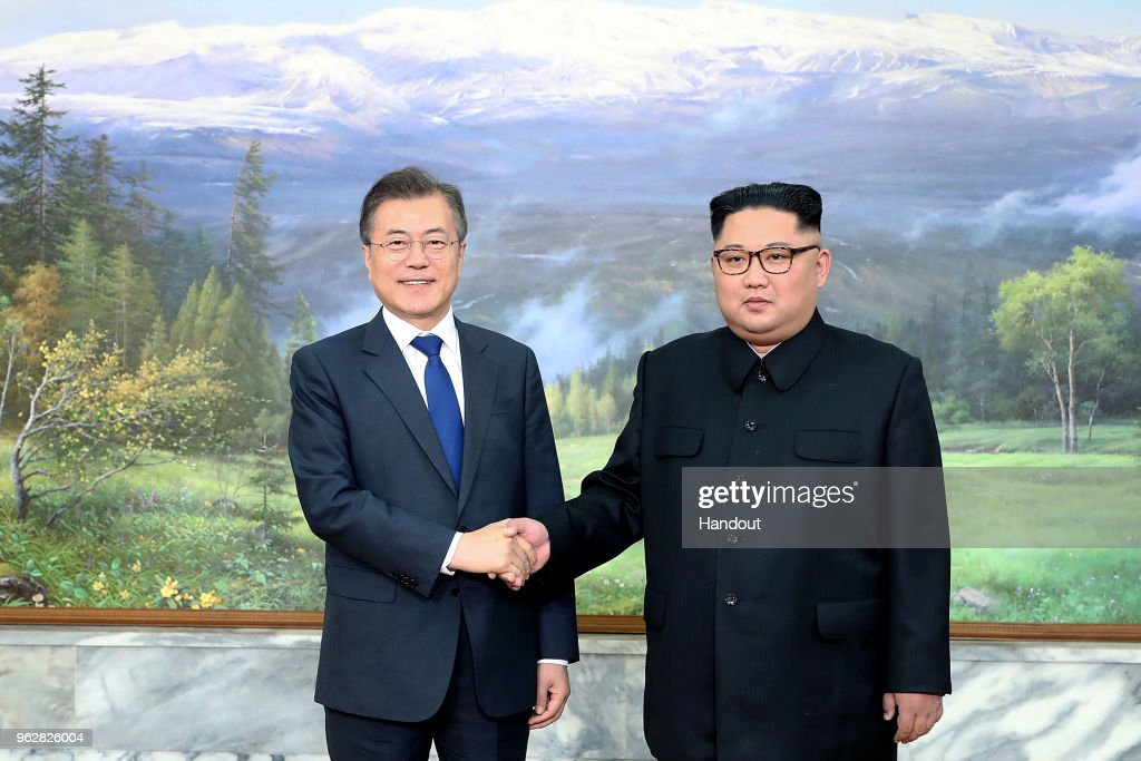 Korean Leaders Moon Jae-in And Kim Jong-Un Hold Surprise Second Summit