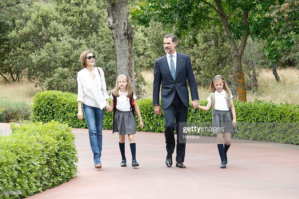 One Year of King Felipe VI of Spain : News Photo
