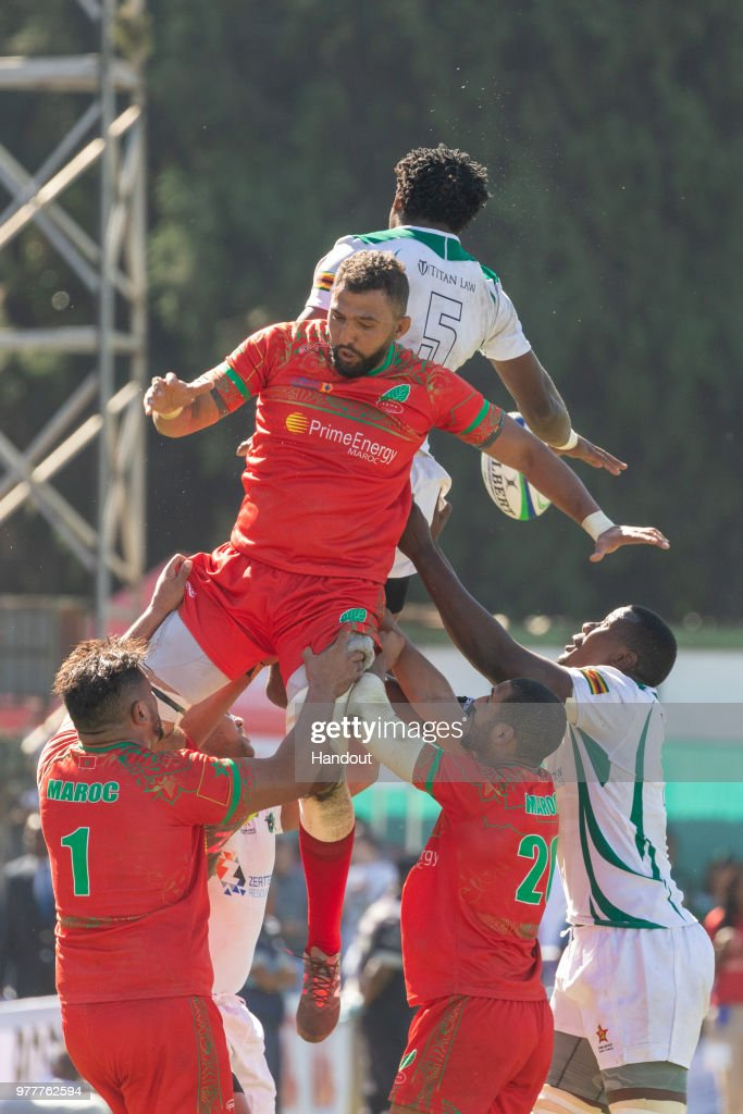 Zimbabwe v Morocco - Rugby Africa Gold Cup : News Photo