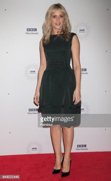 In this handout image provided by the BBC Denise Gough star of the new British drama Paula attends the TV buyers at BBC Worldwide's Showcase event on...