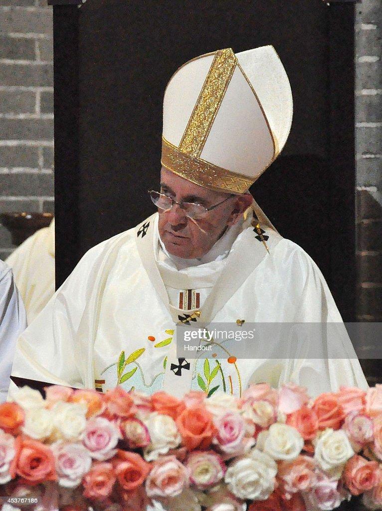 Pope Francis Visits South Korea - Day Five : ニュース写真