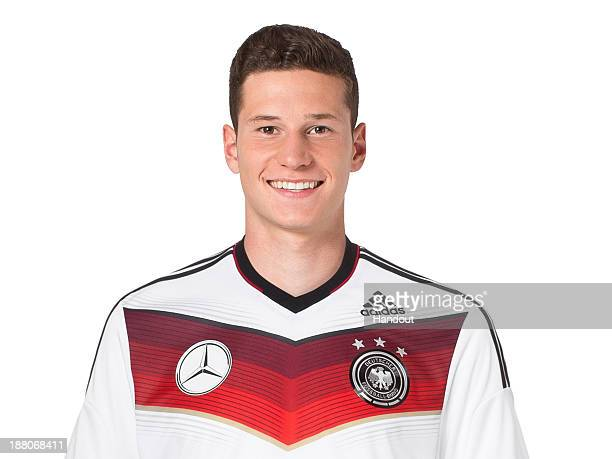 In this handout image provided by the DFB Julian Draxler poses during the German National Team presentation on November 15 2013 in Germany