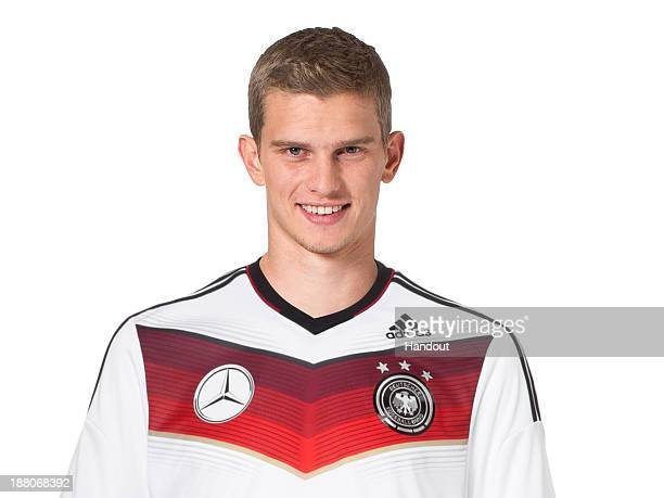 In this handout image provided by the DFB Sven Bender poses during the German National Team presentation on November 15 2013 in Germany