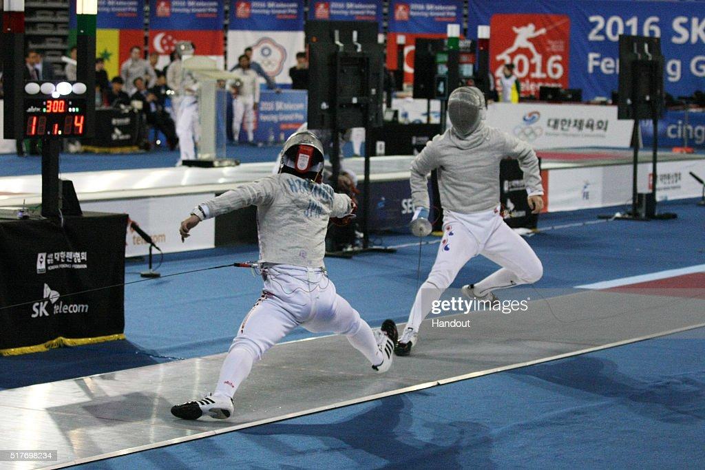 FIE Grand Prix in Seoul - Day 1 : News Photo