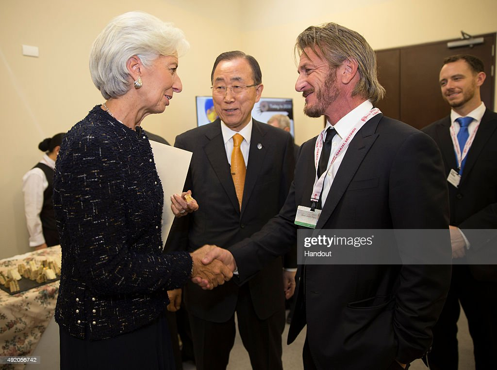 IMF Managing Director Christine Lagarde Attends IMF/World Bank Annual Meetings : News Photo