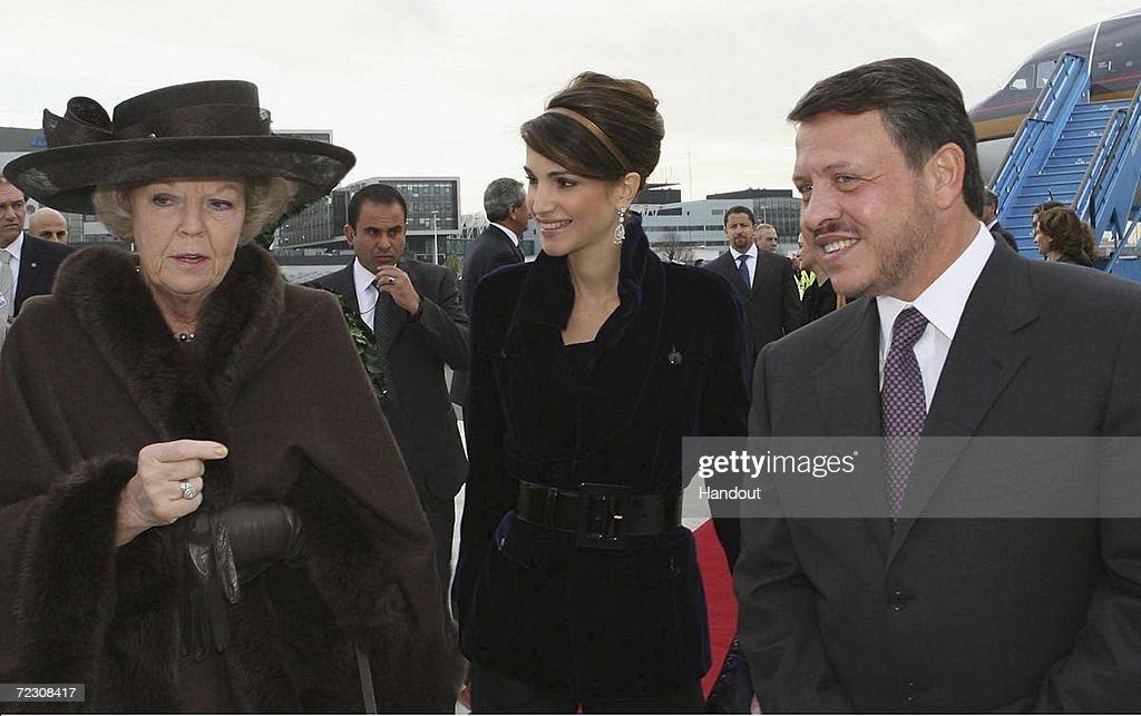 Jordan Royals Visit Netherlands - Day 1 : News Photo