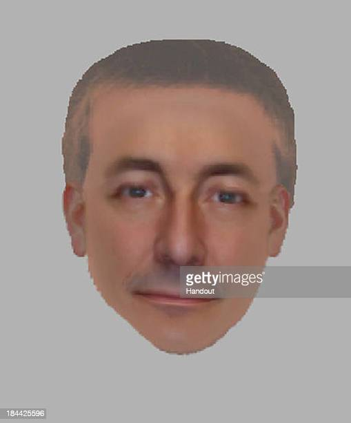 In this handout image provided by the Metropolitan Police an Electronic Facial Identification Technique composite shows one of the men UK police are...