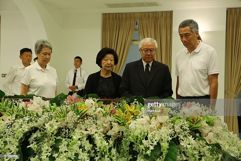 Private Family Wake Held For Mr Lee Kuan Yew
