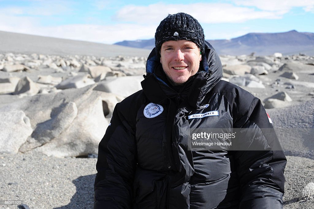 Prince Albert Of Monaco Travels To The South Pole : News Photo