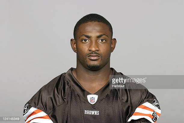 In this handout image provided by the NFL Armond Smith of the Cleveland Browns poses for his NFL headshot circa 2011 in Berea Ohio