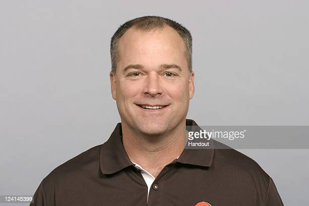 In this handout image provided by the NFL Bill Davis of the Cleveland Browns poses for his NFL headshot circa 2011 in Berea Ohio