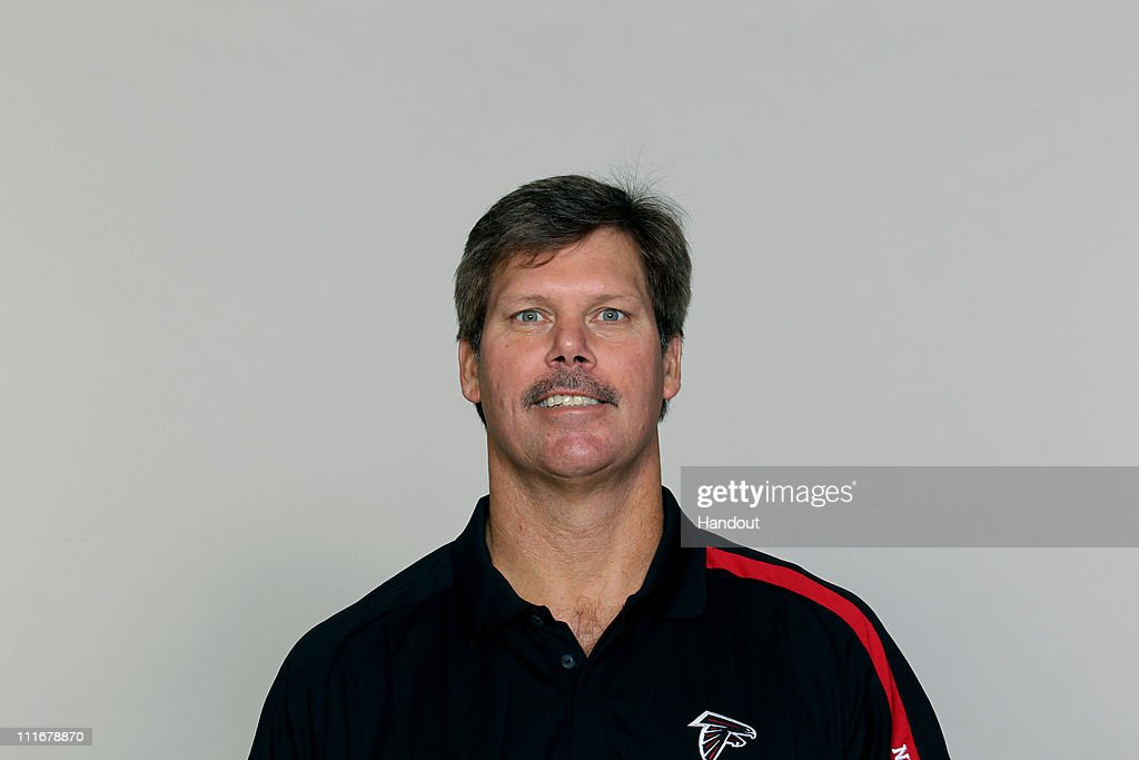 In this handout image provided by the NFL, Brian VanGorder of the Atlanta Falcons poses for his NFL headshot circa 2010 at the Falcons Football Facility in Flowery Branch, Georgia.