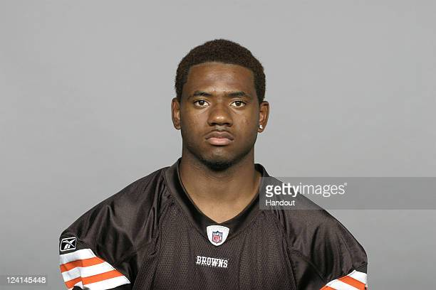 In this handout image provided by the NFL Chris Matthews of the Cleveland Browns poses for his NFL headshot circa 2011 in Berea Ohio
