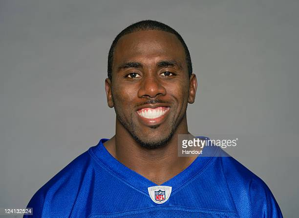 In this handout image provided by the NFL CJ Spiller of the Buffalo Bills poses for his NFL headshot circa 2011 in Rochester New York
