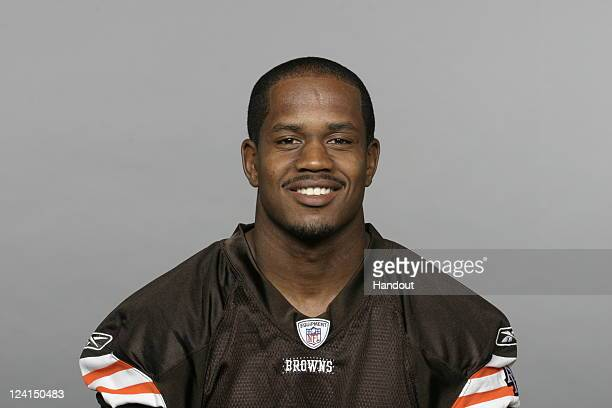 In this handout image provided by the NFL DeAngelo Smith of the Cleveland Browns poses for his NFL headshot circa 2011 in Berea Ohio