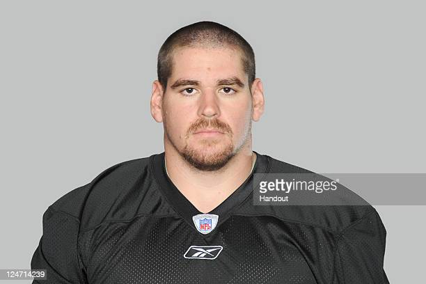 In this handout image provided by the NFL Doug Legursky of the Pittsburgh Steelers poses for his NFL headshot circa 2011 in Pittsburgh Pennsylvania