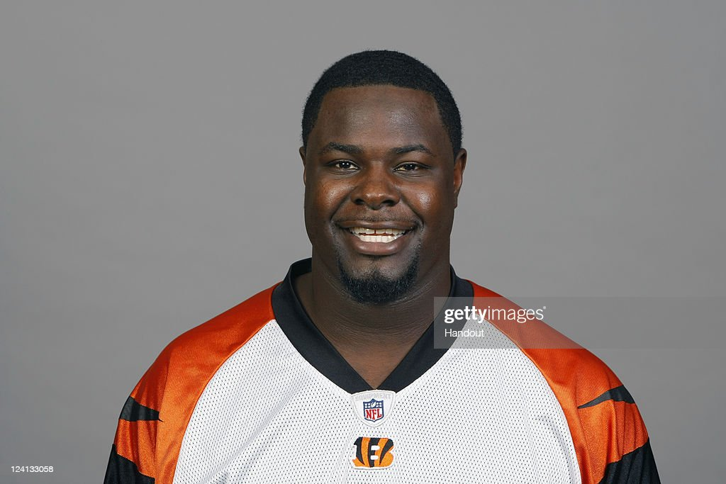 In this handout image provided by the NFL, Frostee Rucker of the Cincinnati Bengals poses for his NFL headshot circa 2011 in Cincinnati, Ohio.