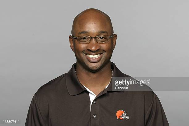 In this handout image provided by the NFL George McDonald of the Cleveland Browns poses for his 2010 NFL headshot circa 2010 in Berea Ohio