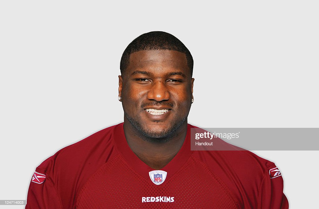 In this handout image provided by the NFL, Jammal Brown of the Washington Redskins poses for his NFL headshot circa 2011 in Ashburn, Virginia.