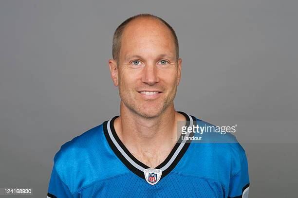 In this handout image provided by the NFL, Jason Hanson of the Detroit Lions poses for his NFL headshot circa 2011 in Detroit, Michigan.