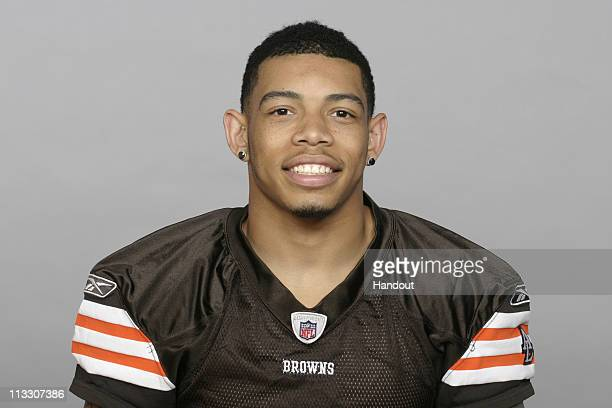 In this handout image provided by the NFL Joe Haden of the Cleveland Browns poses for his 2010 NFL headshot circa 2010 in Berea Ohio