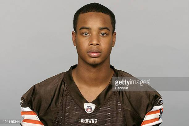 In this handout image provided by the NFL Jordan Norwood of the Cleveland Browns poses for his NFL headshot circa 2011 in Berea Ohio
