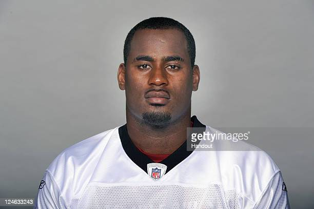 In this handout image provided by the NFL Junior Galette of the New Orleans Saints poses for his NFL headshot circa 2011 in Metairie Louisiana
