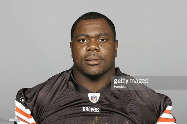 In this handout image provided by the NFL Ko Quaye of the Cleveland Browns poses for his NFL headshot circa 2011 in Berea Ohio