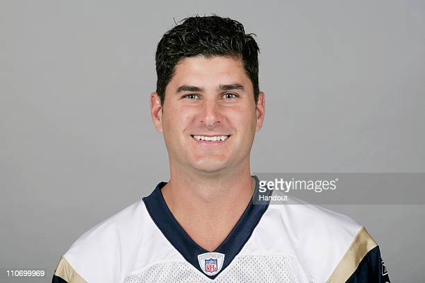In this handout image provided by the NFL Marc Bulger of the Baltimore Ravens poses for his 2010 NFL headshot circa 2010 in Baltimore Maryland