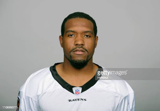 In this handout image provided by the NFL , Marcus Paschal of the Baltimore Ravens poses for his 2010 NFL headshot circa 2010 in Baltimore, Maryland.