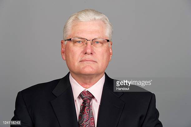 In this handout image provided by the NFL Mike Martz of the Chicago Bears poses for his NFL headshot circa 2011 in Chicago Illinois