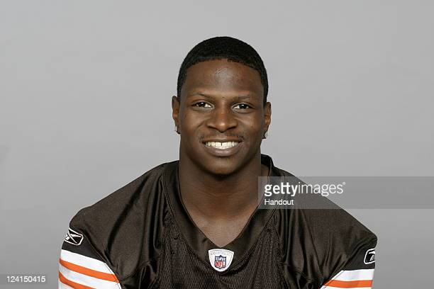 In this handout image provided by the NFL Montario Hardesty of the Cleveland Browns poses for his NFL headshot circa 2011 in Berea Ohio