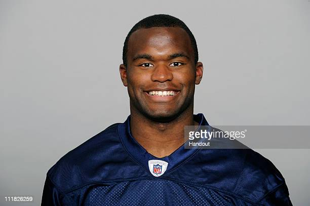 In this handout image provided by the NFL Myron Rolle of the Tennessee Titans poses for his 2010 NFL headshot circa 2010 at Baptist Sports Park in...