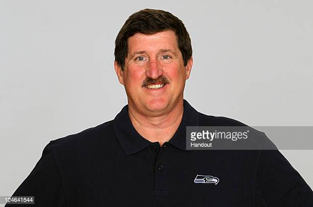In this handout image provided by the NFL Pat Ruel of the Seattle Seahawks poses for his NFL headshot circa 2011 in Renton Washington