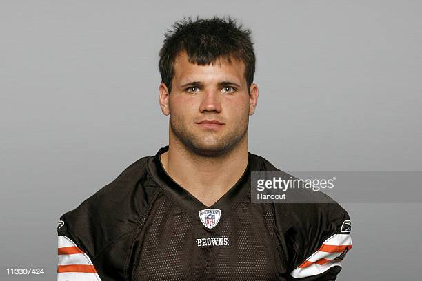 In this handout image provided by the NFL Peyton Hillis of the Cleveland Browns poses for his 2010 NFL headshot circa 2010 in Berea Ohio