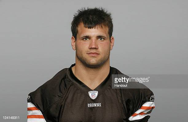 In this handout image provided by the NFL Peyton Hillis of the Cleveland Browns poses for his NFL headshot circa 2011 in Berea Ohio