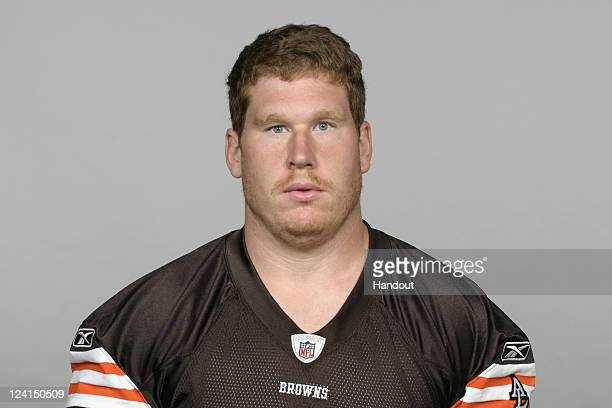 In this handout image provided by the NFL Phil Trautwein of the Cleveland Browns poses for his NFL headshot circa 2011 in Berea Ohio