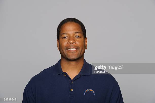 In this handout image provided by the NFL Steve Wilks of the San Diego Chargers poses for his NFL headshot circa 2011 in San Diego California