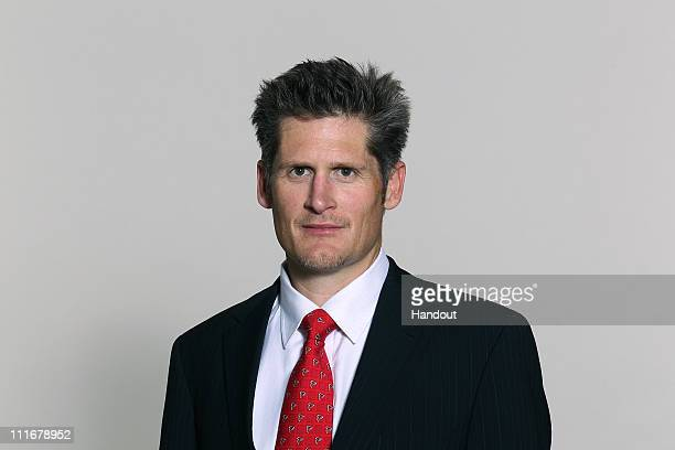 In this handout image provided by the NFL Thomas Dimitroff of the Atlanta Falcons NFL of Saturday May 8 2010 headshot circa 2010 at the Falcons...