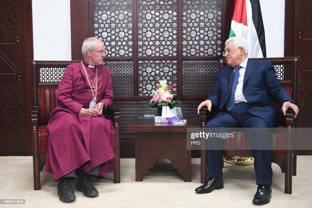Archbishop Of Canterbury Tours The Holy Land