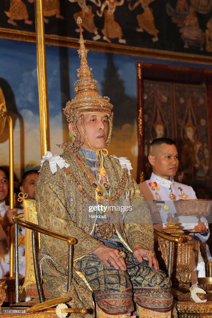 Thailand Celebrates The Coronation of King Rama X : News Photo