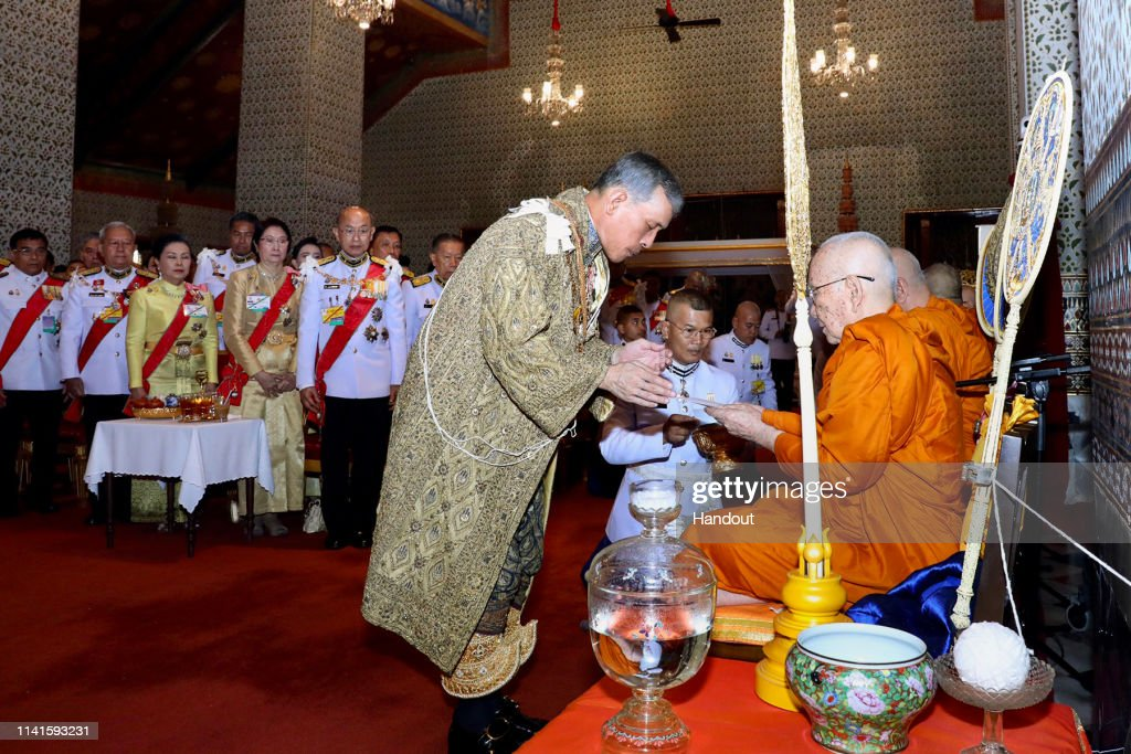 Thailand Celebrates The Coronation of King Rama X : News Photo